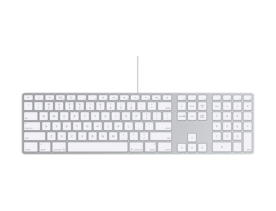 Apple keyboard with numeric keypad xl