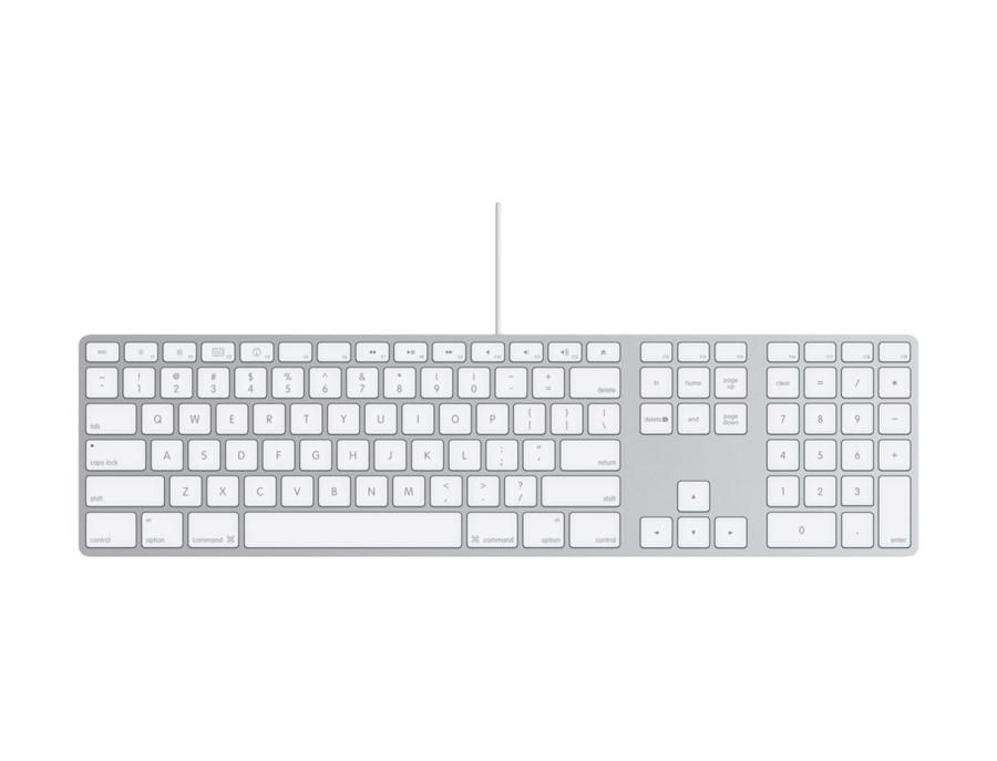 Apple keyboard with numeric keypad xl