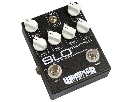 Wampler Pedals SLOSTORTION Amp-In-A-Box Distortion Pedal