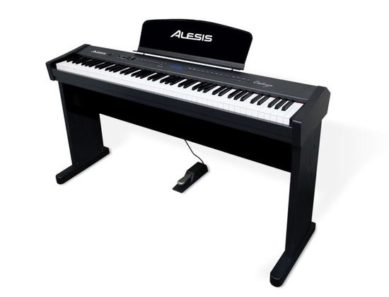 Alesis Cadenza Premium 88-Key Digital Piano with Hammer-Action Keys