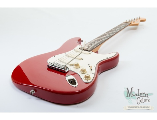 1989 Stratocaster Plus Red