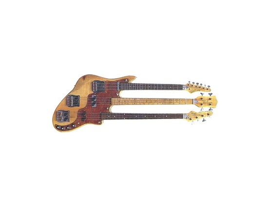 Wal Triple-Neck Bass