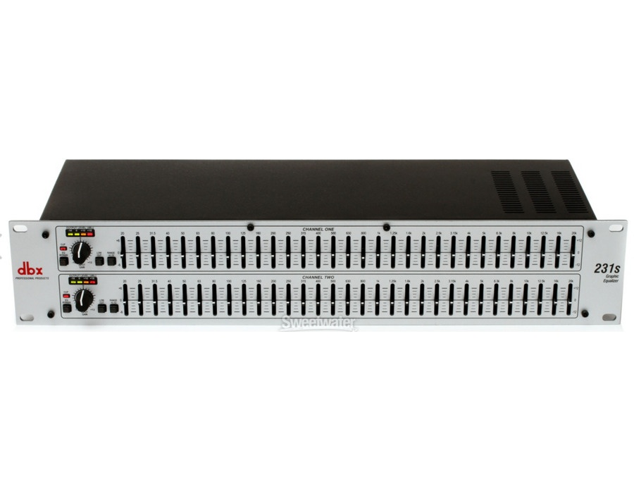 DBX 231s Dual-channel 31-band Equalizer