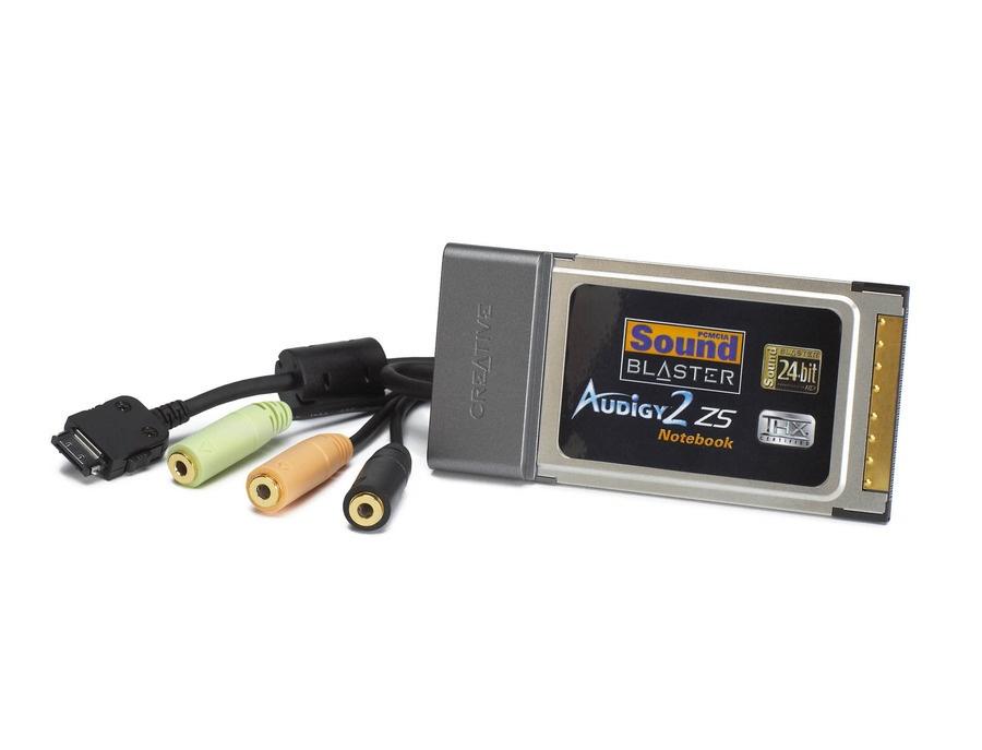 Creative Audigy 2 ZS PCMCIA