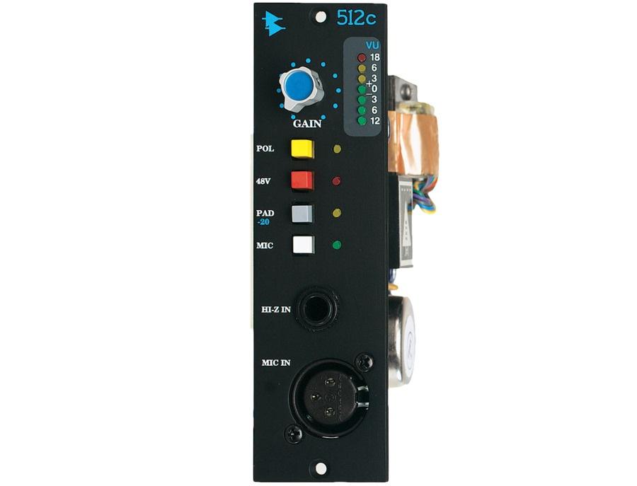 API 512c Microphone Preamplifier