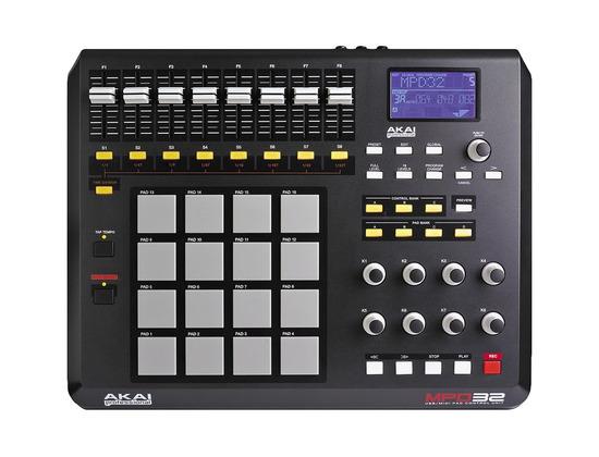 Akai Professional MPD32 MIDI/USB Software Control Surface