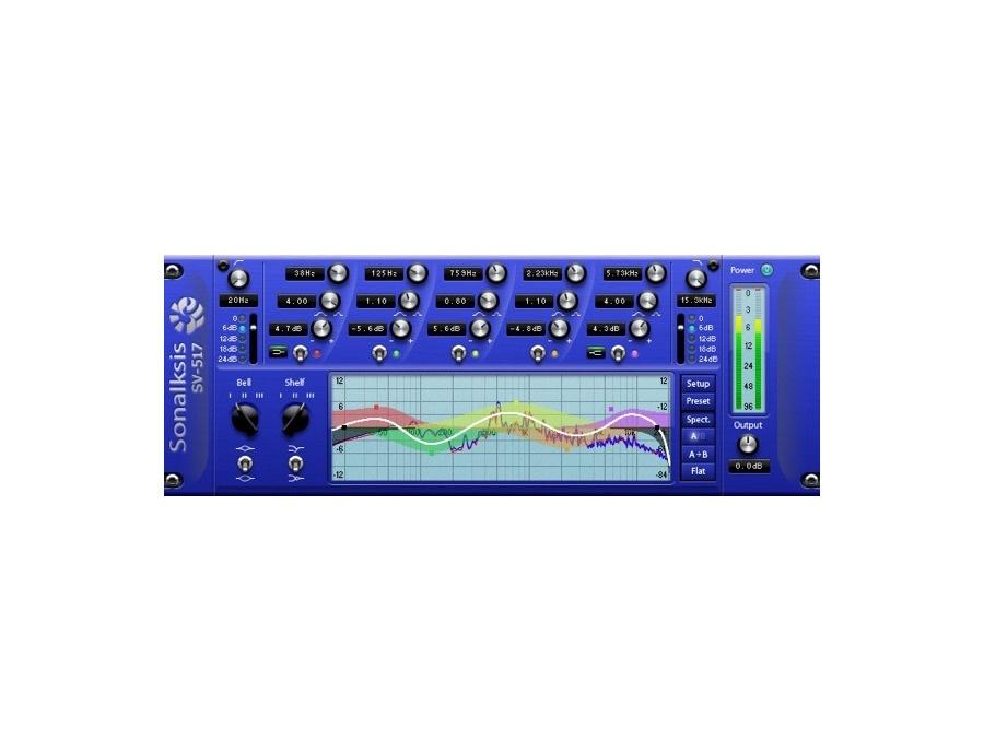 Sonalksis SV-517 Software Equalizer Plugin