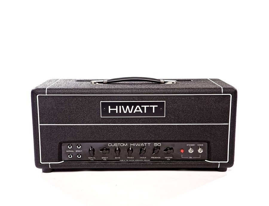 Hiwatt DR504 Custom 50 Head