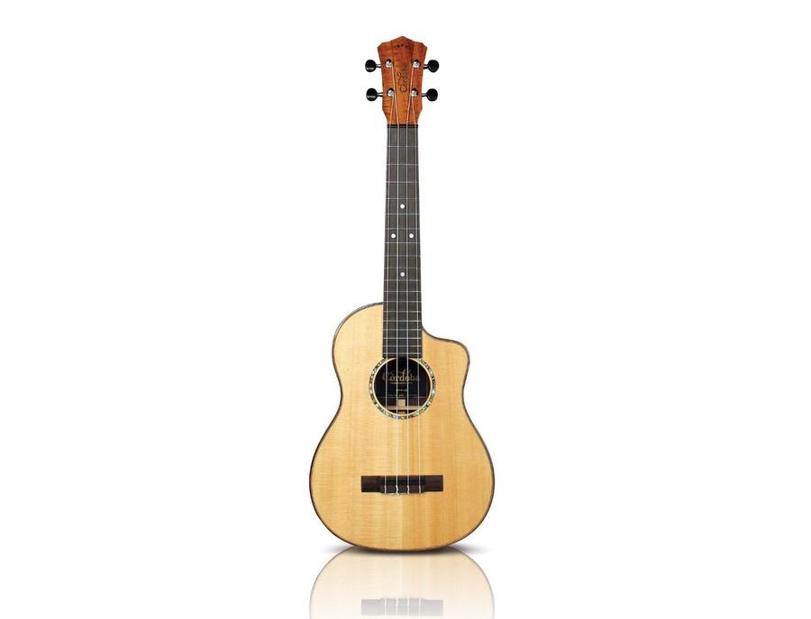 Cordoba 35ts ce all solid acoustic electric tenor ukulele xl