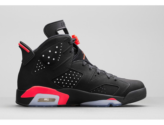 Air Jordan 6 Retro Black/Infrared 23