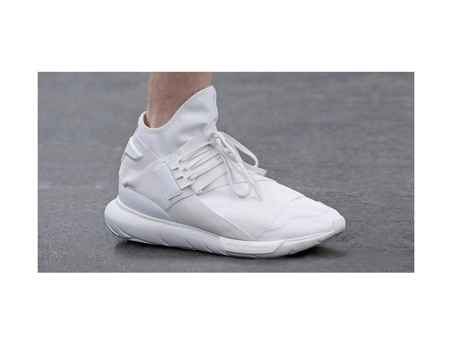 Adidas Y 3 Qasa High White