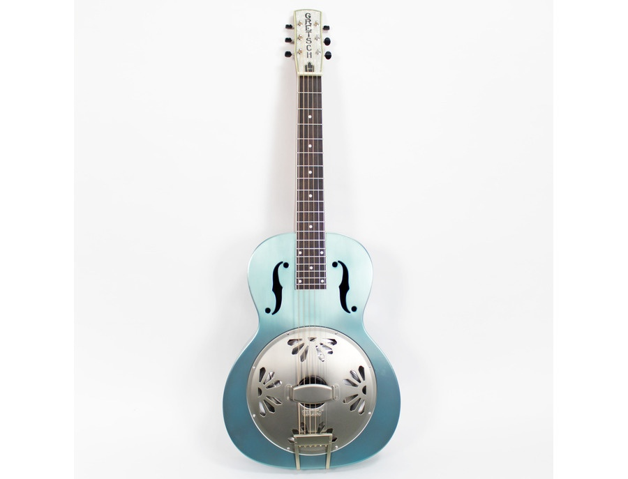 Gretsch Honey Dipper Round Neck Resonator Guitar (Delta Blue)