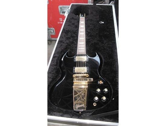 Gibson Custom Shop SG Ebony with Maestro Vibrola
