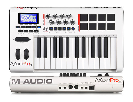 M-Audio Axiom Pro 49 25-Key USB MIDI Keyboard Controller