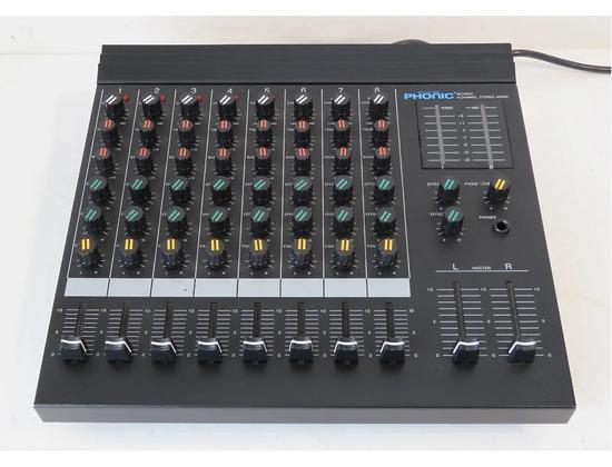 Phonic BKX 8800 8-channel mixer