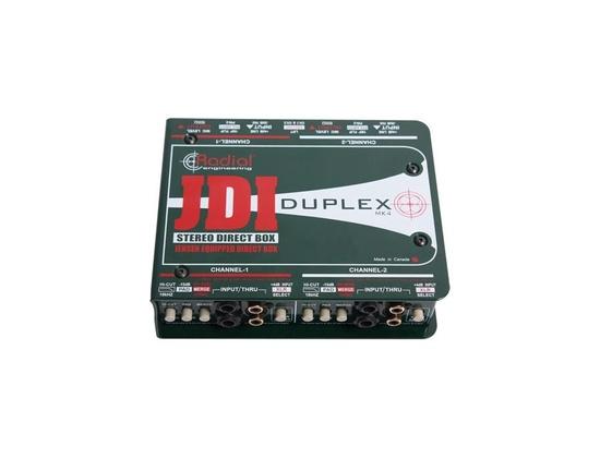 Radial JDI duplex direct box