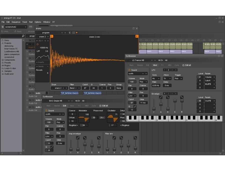 energyXT Digital Audio Workstation