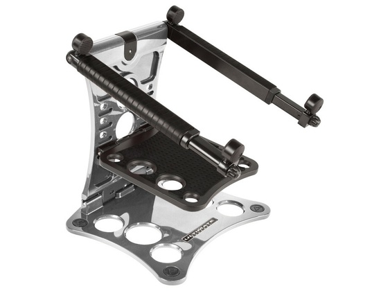 Ultimate Support Hyperstation LPT-1000S Silver Laptop Stand