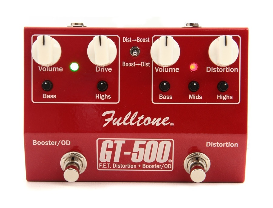 Fulltone gt 500 booster distortion xl