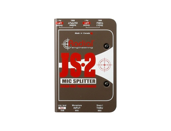 Radial Engineering JS2/JS3 Passive Microphone Splitter