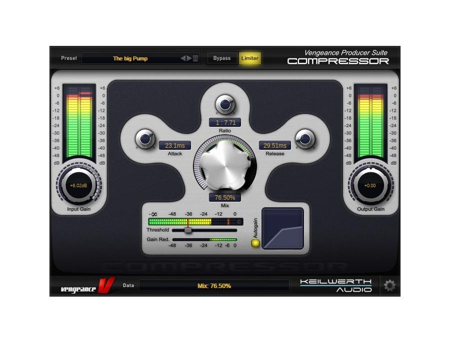 Vengeance Producer Suite: VPS EFX - Compressor
