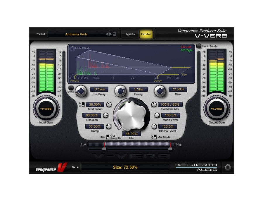 Vengenace Producer Suite: VPS V-Verb