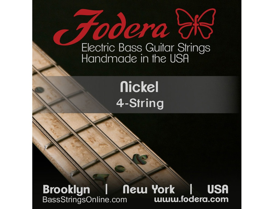 Fodera Round Wound Nickel Plated Steel Bass Strings