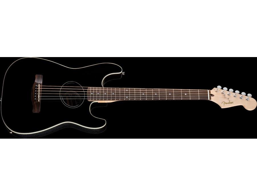 Fender Stratacoustic Black Ca Al Instruments Se Studio