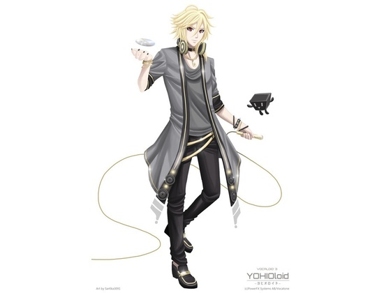 YOHIOloid (Vocaloid 3 Library)