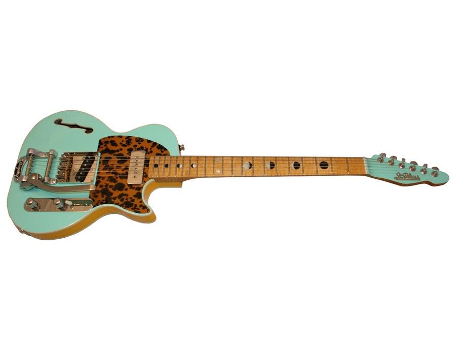 Saint Blue Guitar Workshop Andrew VanWyngarden Custom