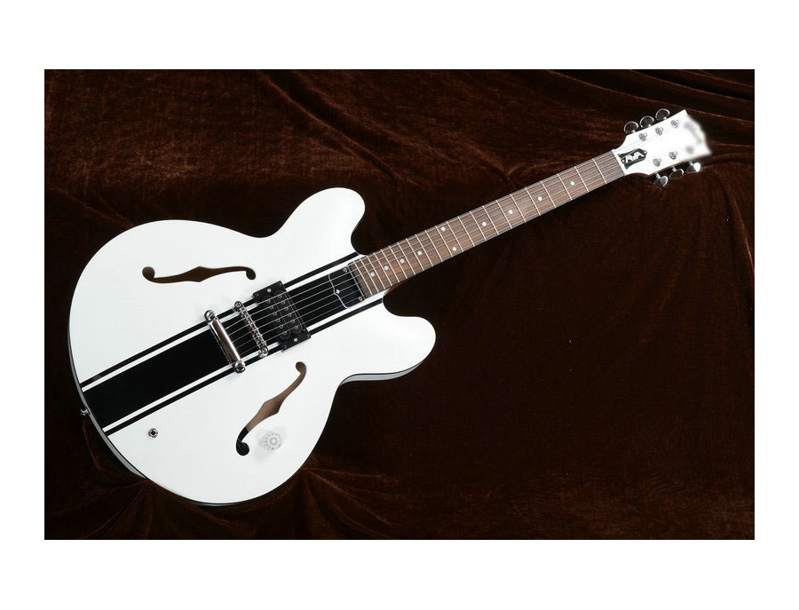 gibson es 333 tom delonge signature white reviews prices equipboard. Black Bedroom Furniture Sets. Home Design Ideas
