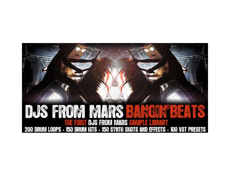 "Bangin' Beats – ""the first DJS From Mars sample library"""