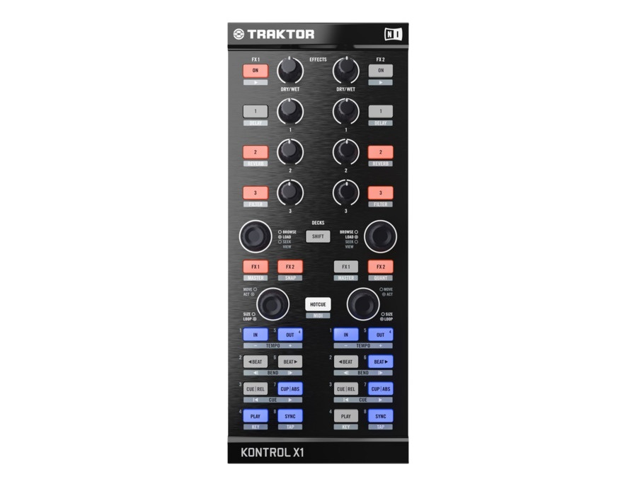 Native Instruments Traktor Kontrol X1 Performance DJ Controller