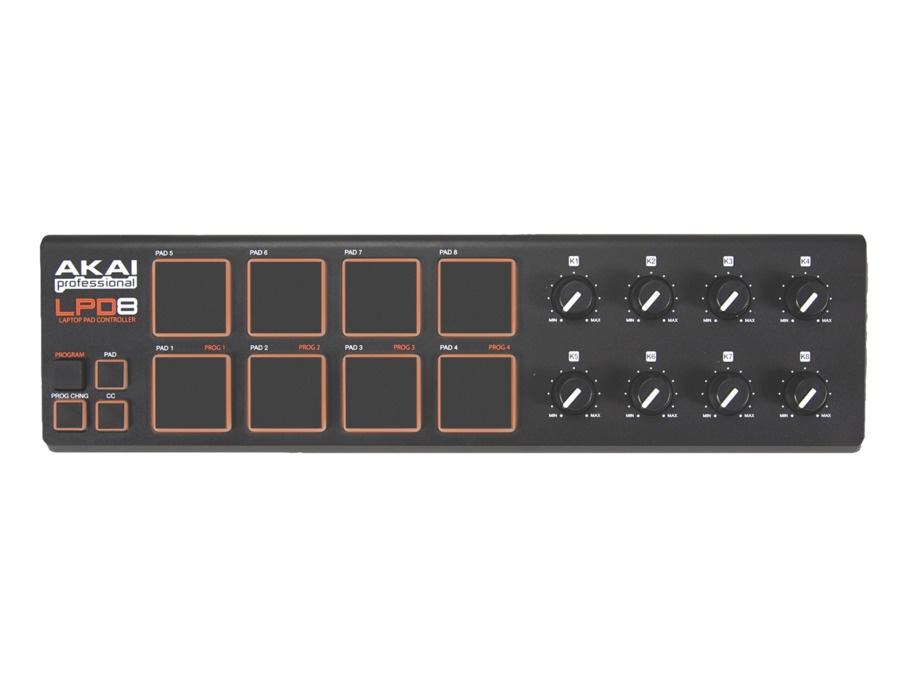 Akai professional lpd8 laptop pad controller xl