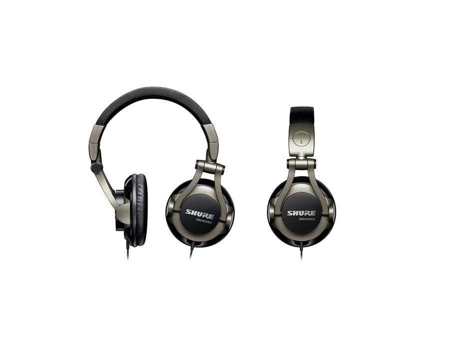 Shure SRH550DJ Professional Quality DJ Headphones