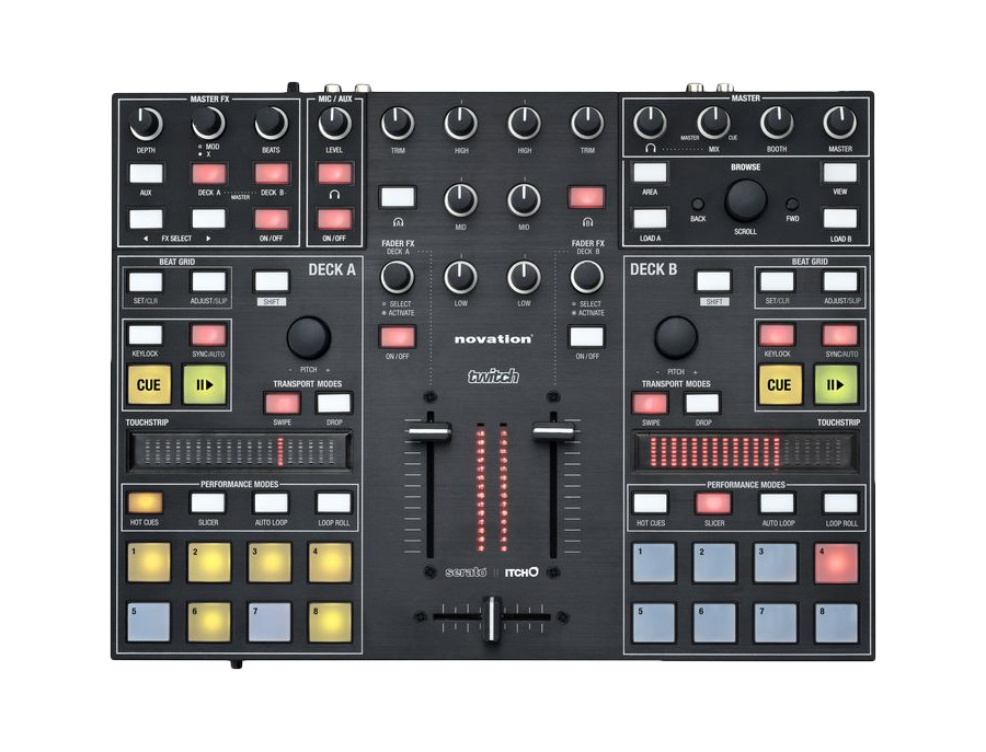 Novation TWITCH DJ Controller
