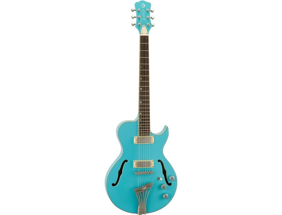 Luna Guitars Athena Aqua Mist