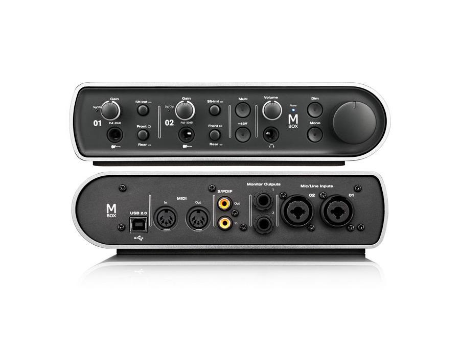 Avid  mbox audio interface