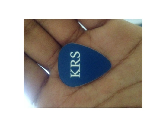 Custom Medium Gauge Guitar Picks