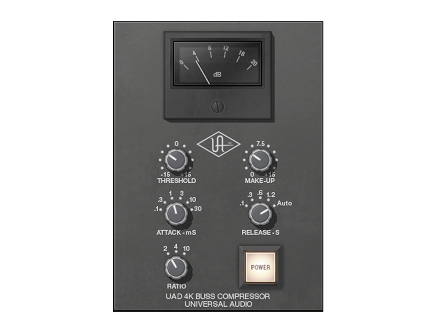 Universal audio uad 4k buss compressor plug in xl
