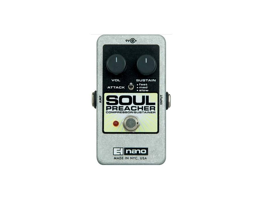 Electro harmonix nano soul preacher comp pedal xl