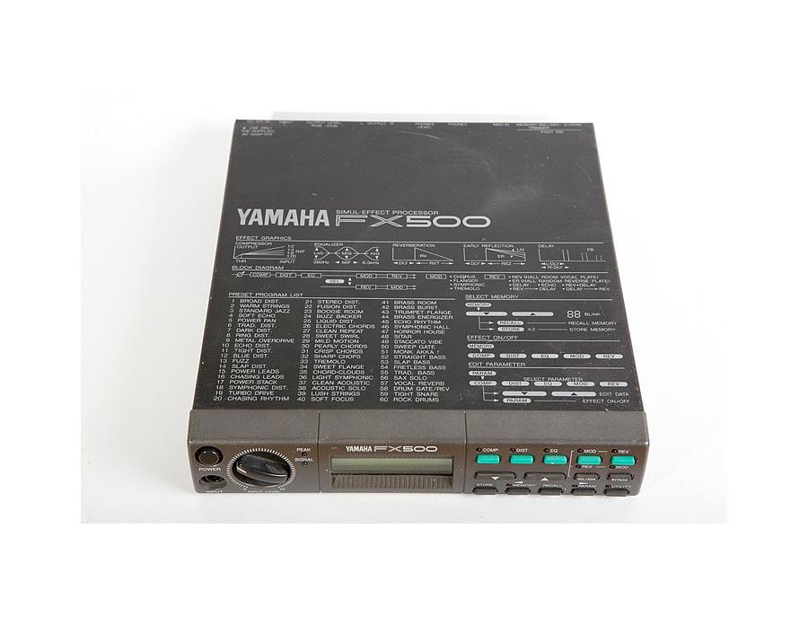 Yamaha fx500 xl