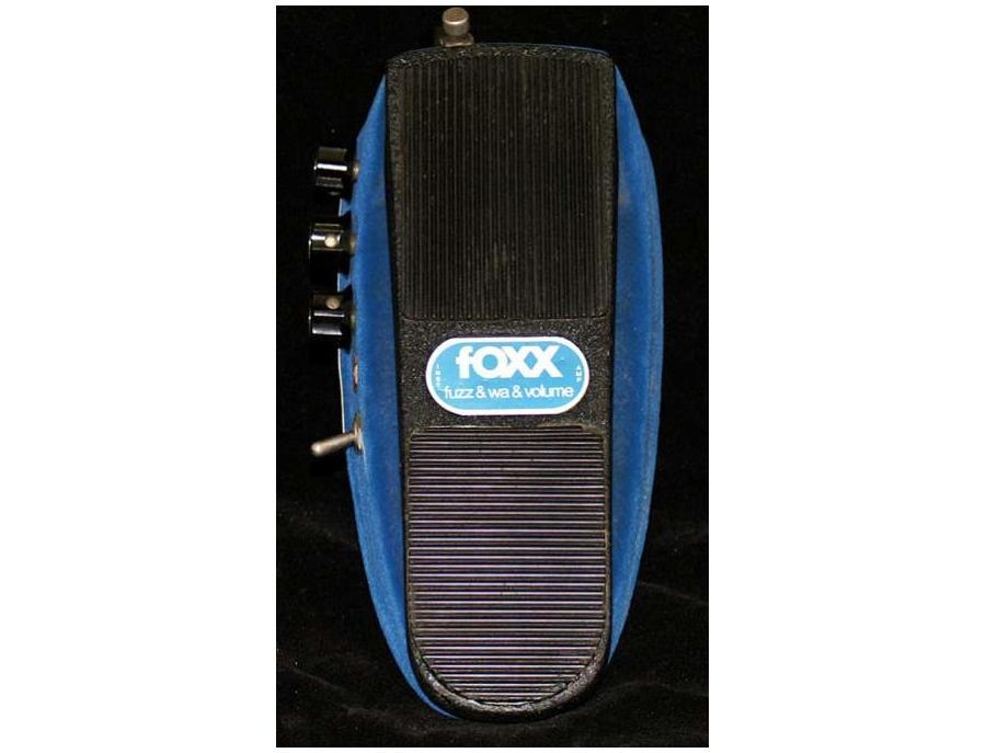 Fender fOXX Fuzz Wah Volume