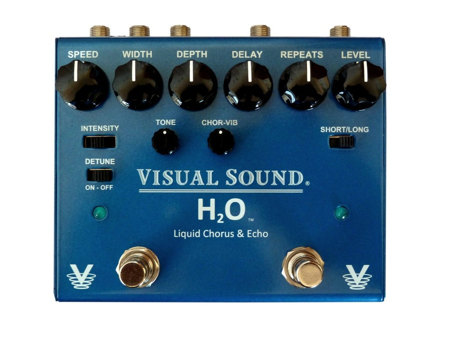 Visual Sound V3H2O Liquid Chorus and Echo