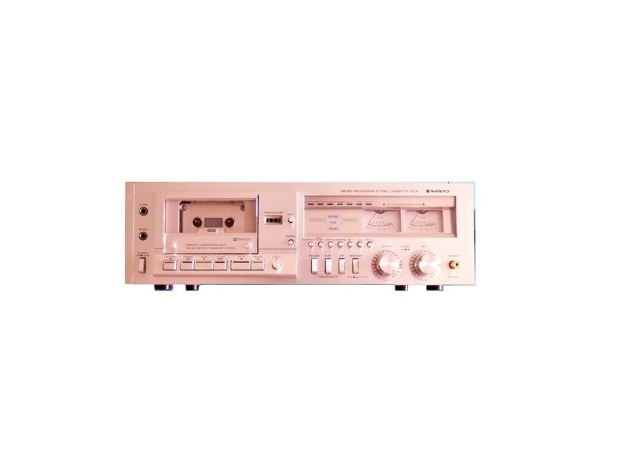 Sanyo Stereo Micro-Processor Cassette Deck