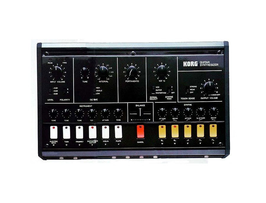 Korg X-911 Guitar Synthesizer