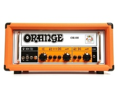 Orange amplifiers or100 100w dual channel tube guitar head s