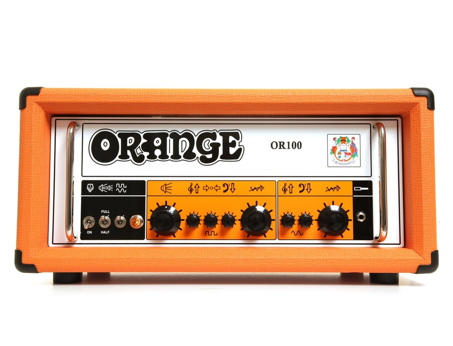 Orange Amplifiers OR100 100W Dual Channel Tube Guitar Head