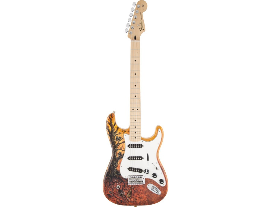 Fender Stratocaster Price >> Fender Stratocaster David Lozeau Art Tree Of Life Reviews Prices