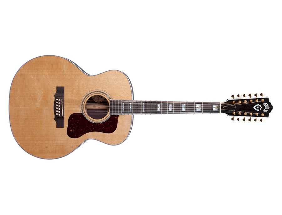 guild f 512 12 string acoustic guitar reviews prices equipboard. Black Bedroom Furniture Sets. Home Design Ideas